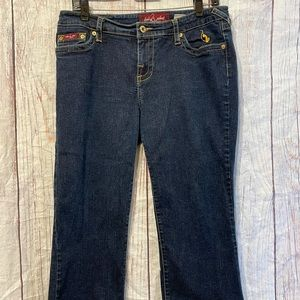Authentic Baby Phat Cropped Jeans